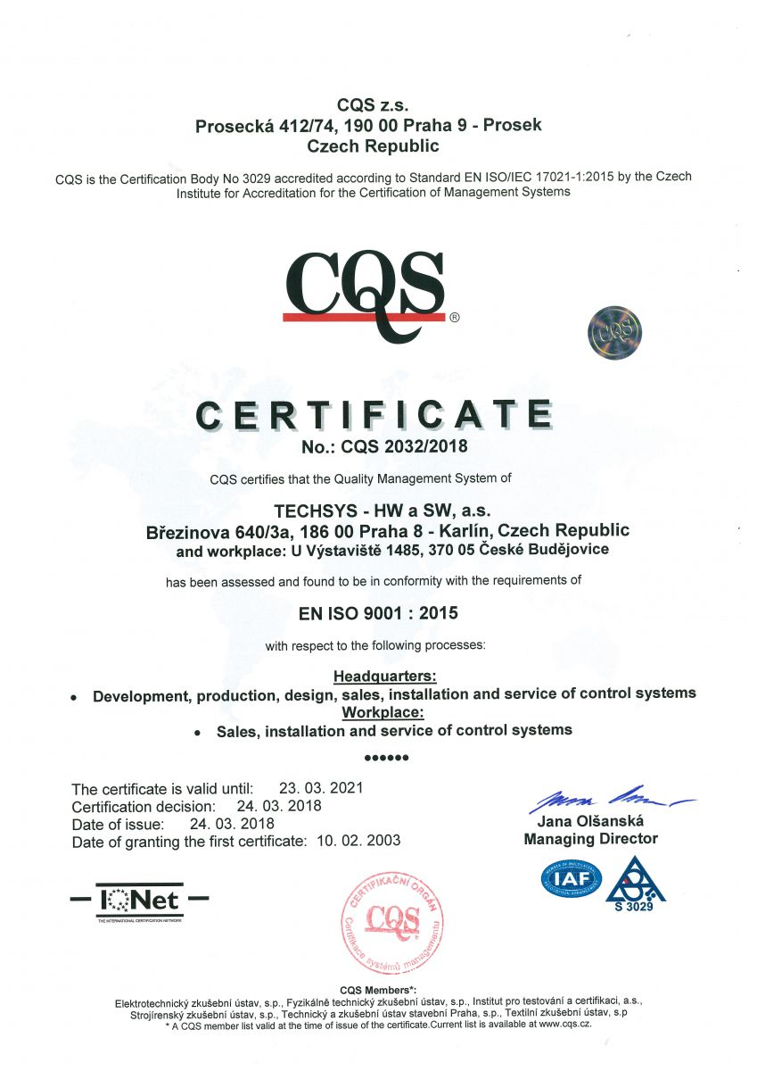 iso 9001 version 2015 certified companies list